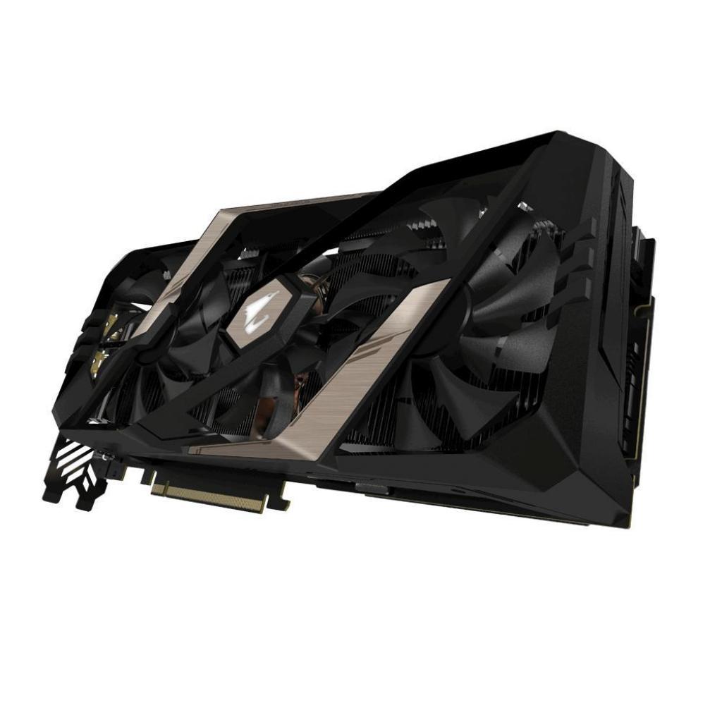 Видеокарта GIGABYTE GeForce RTX2080 Ti 11Gb AORUS (GV-N208TAORUS-11GC) изображение 4