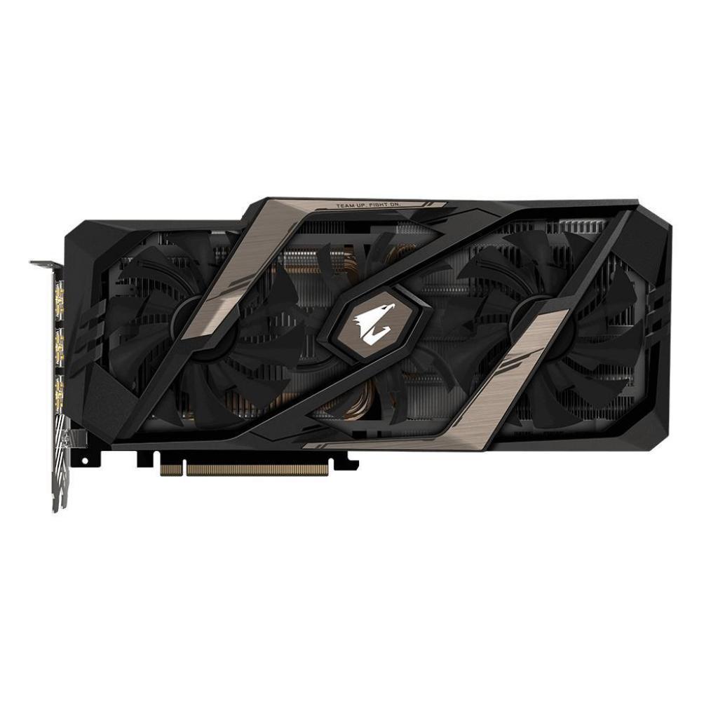 Видеокарта GIGABYTE GeForce RTX2080 Ti 11Gb AORUS (GV-N208TAORUS-11GC) изображение 7