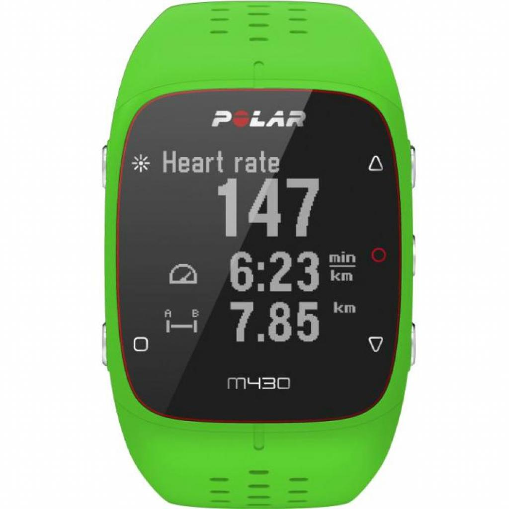 Смарт-часы Polar M430 GPS for Android/iOS Green (90070085) изображение 2