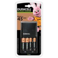 Зарядний пристрій для акумуляторів Duracell CEF27 + 2 rechar AA1300mAh + 2 rechar AAA750mAh (5001374)