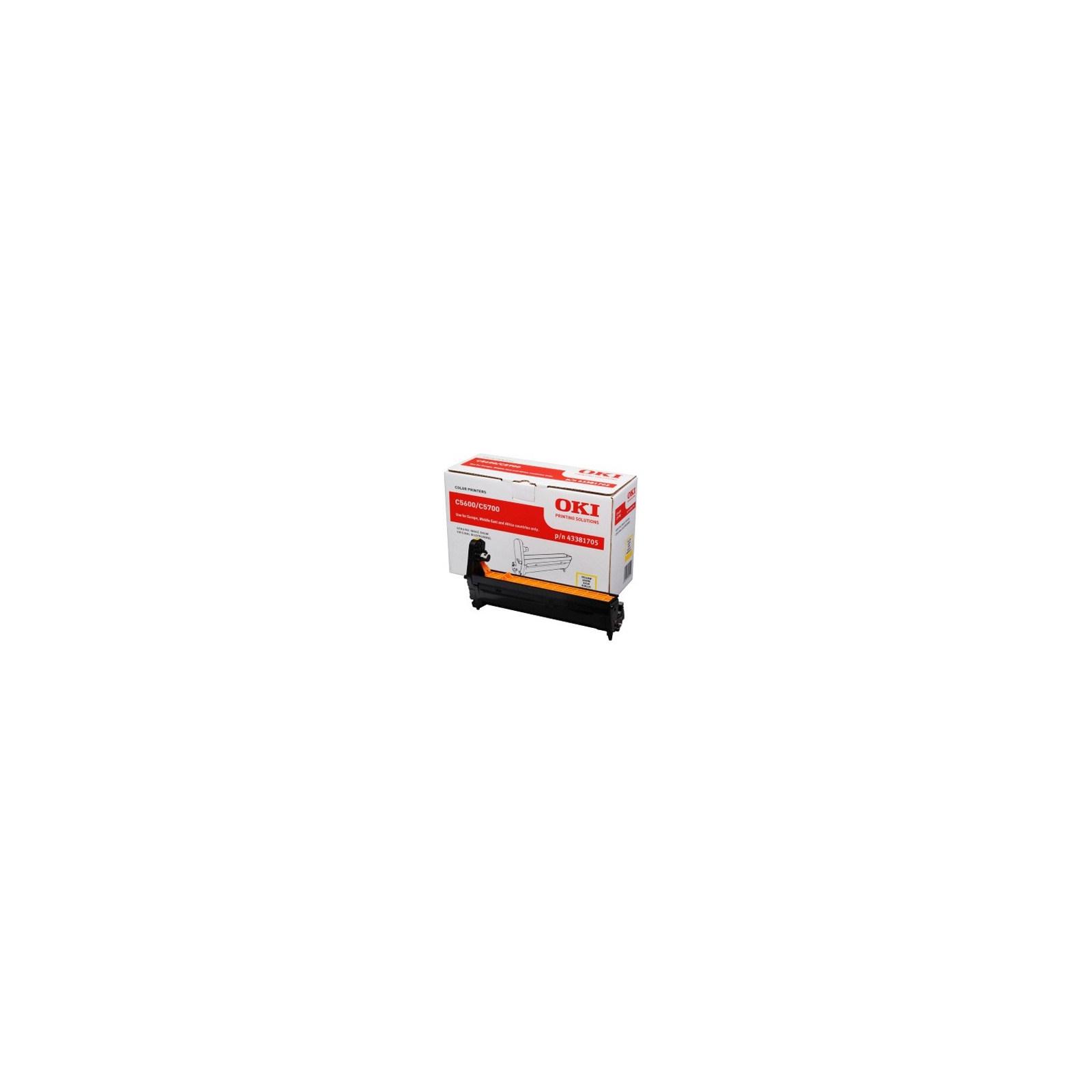 Фотокондуктор OKI C5600/5700 Yellow (43381705)