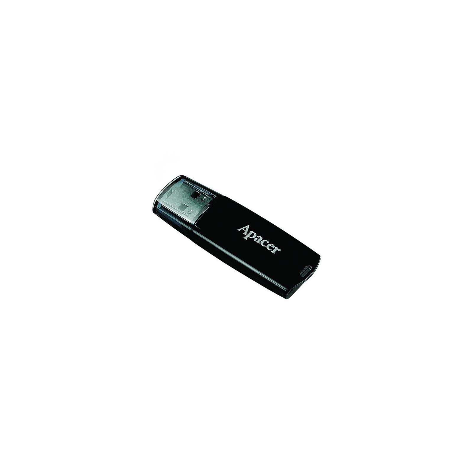 USB флеш накопитель Handy Steno AH322 black Apacer (AP8GAH322B-1) изображение 2