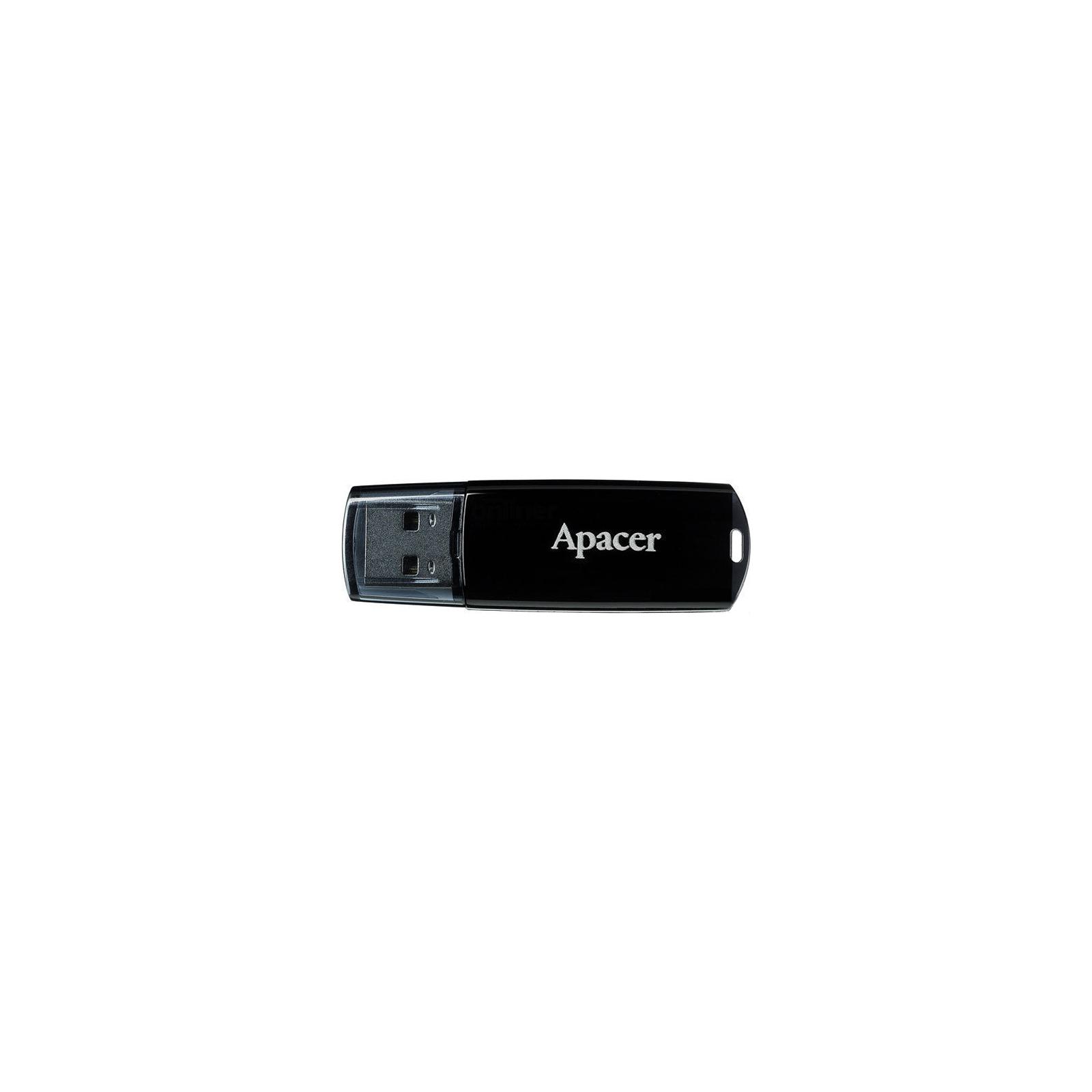 USB флеш накопитель Handy Steno AH322 black Apacer (AP8GAH322B-1)