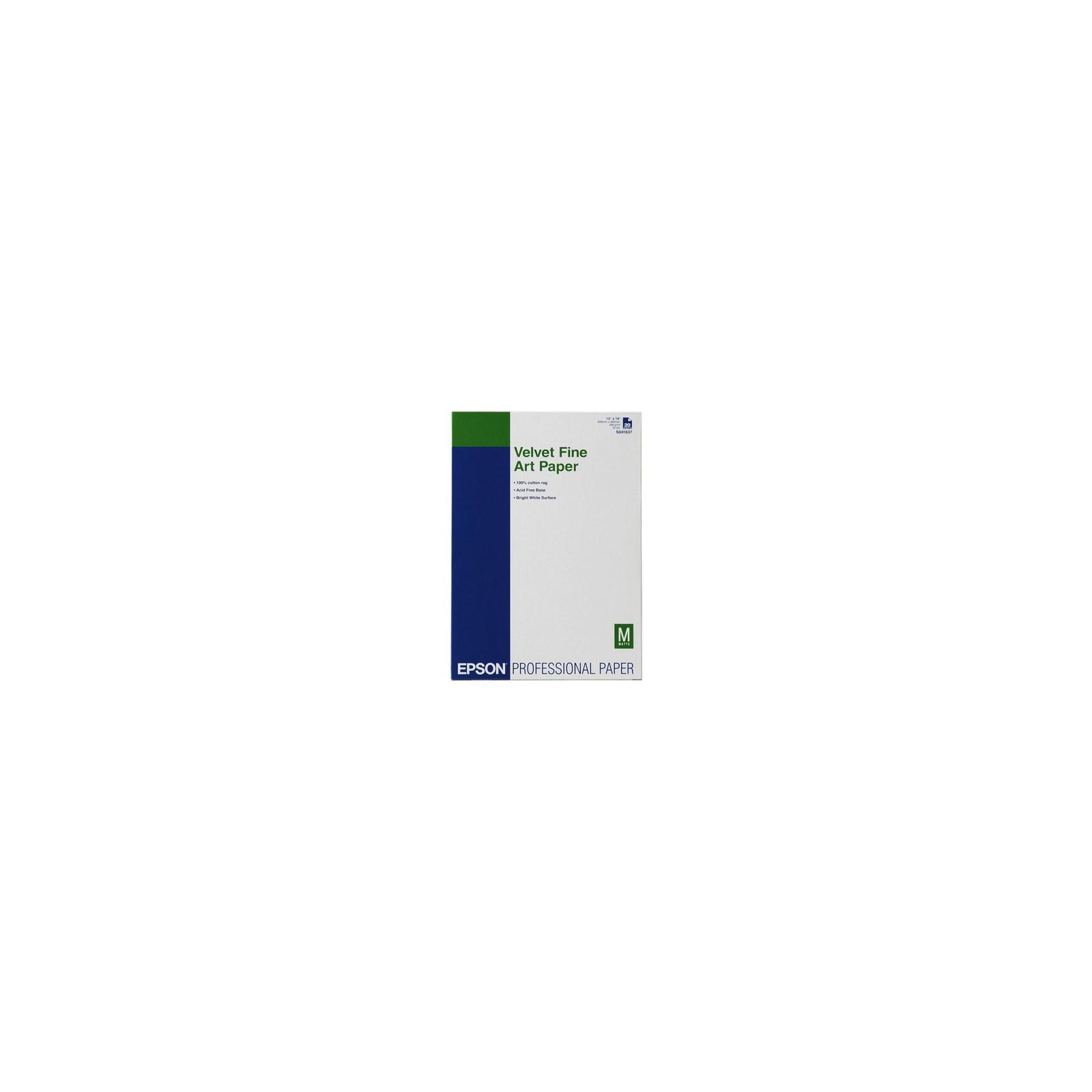 Бумага EPSON A3+ Velvet FineArt (C13S041637)