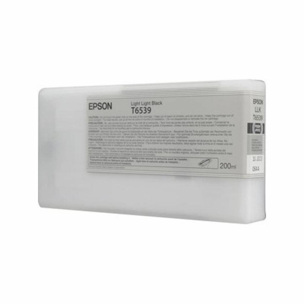Картридж EPSON StPro 4900 light light black, 200м (C13T653900)