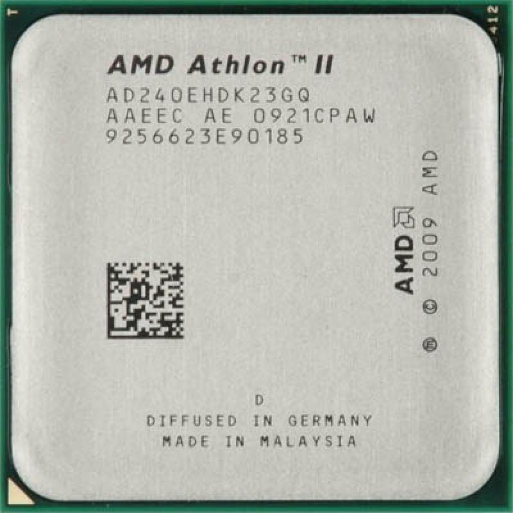 Процессор AMD Athlon ™ II X2 240e (AD240EHDK23GQ/AD240EHDK23GМ)