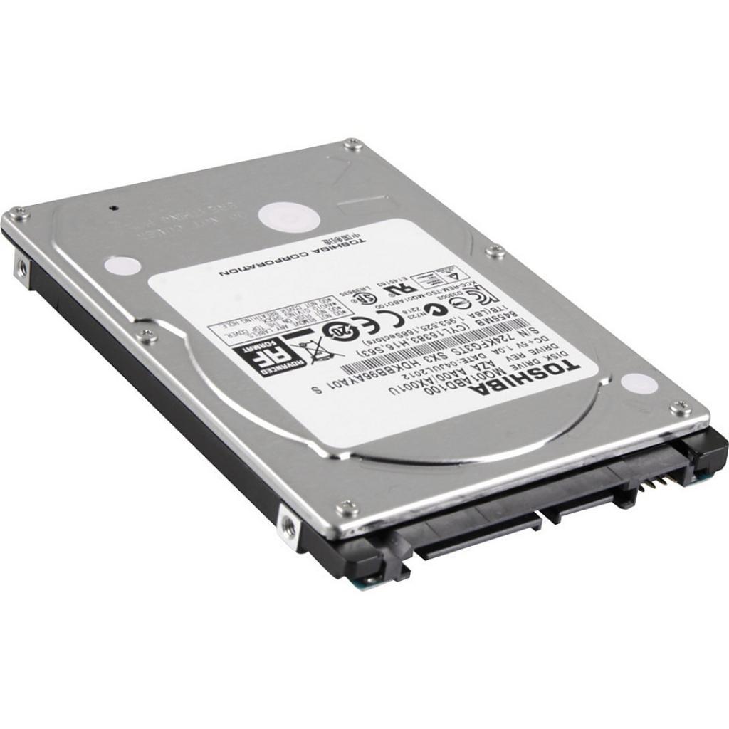 "Жесткий диск для ноутбука 2.5"" 1TB TOSHIBA (MQ01ABD100 / PX1829E-1HJ0) изображение 2"
