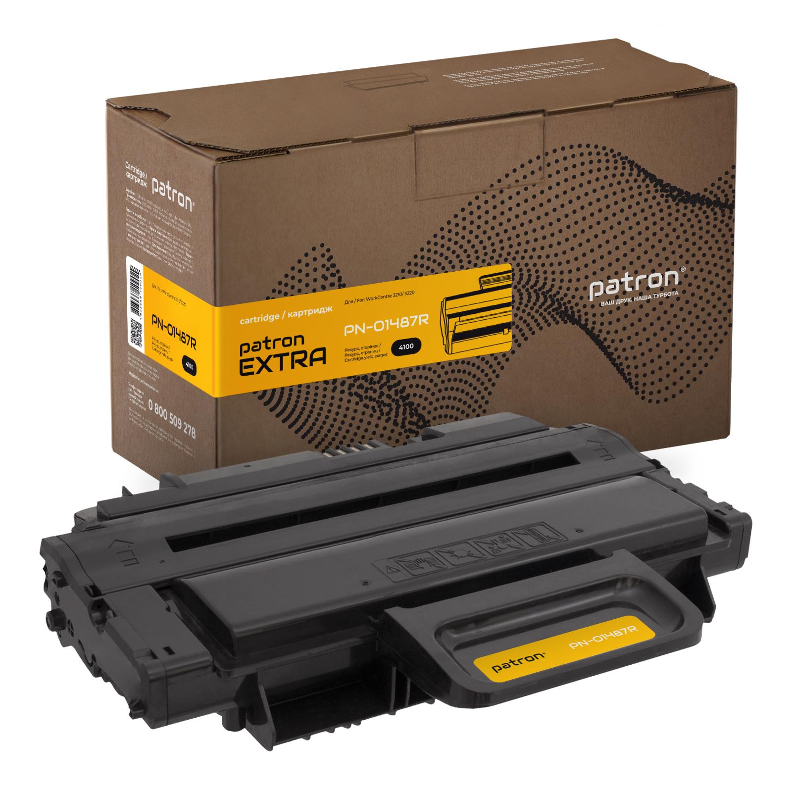 Картридж PATRON XEROX WC 3210 (PN-01487R) 106R01487 Extra (CT-XER-106R01487-PNR)