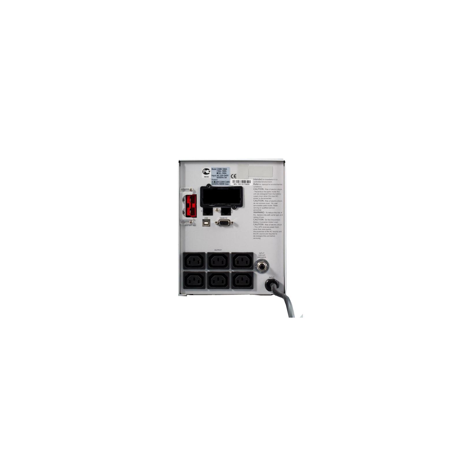 Источник бесперебойного питания Powercom SXL-1000A-LCD (SXL-1K0A-6GC-2440) изображение 2