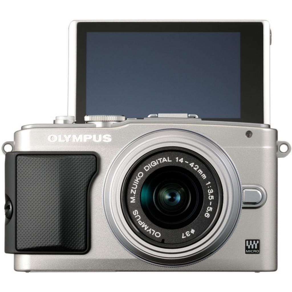 Цифровой фотоаппарат OLYMPUS E-PL5 14-42 mm Flash Air silver/silver (V205041SE010) изображение 2