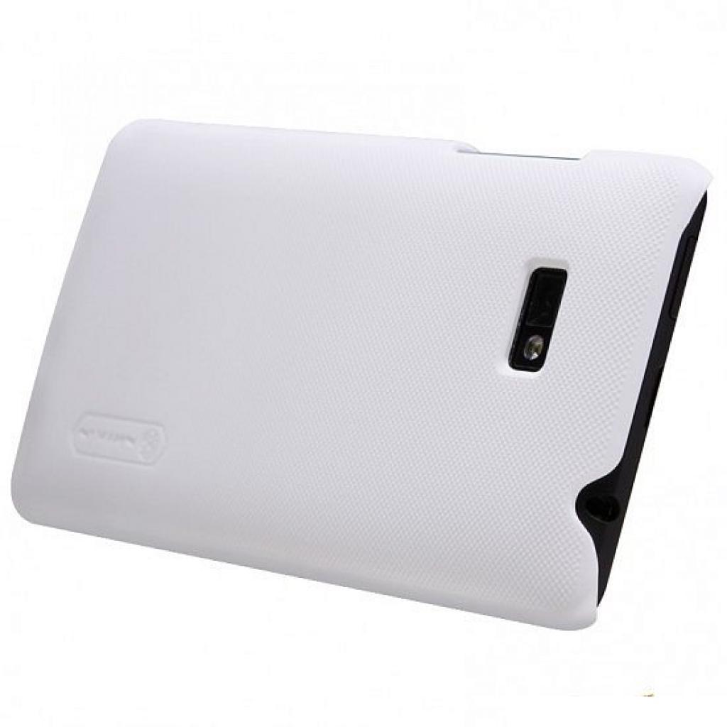 Чехол для моб. телефона NILLKIN для HTC Desire 600 /Super Frosted Shield/White (6065735) изображение 2
