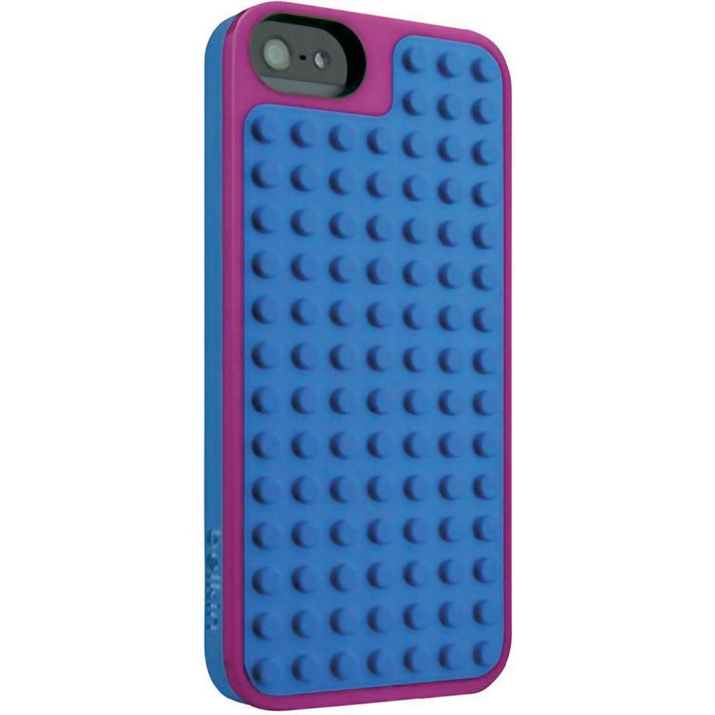 Чехол для моб. телефона Belkin iPhone 5/5s Pink Violet /LEGO Builder (F8W283vfC01) изображение 2