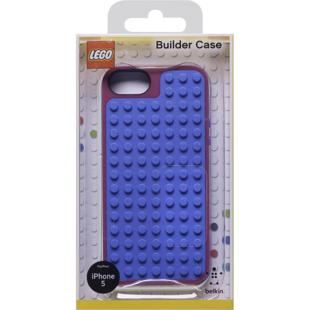 Чехол для моб. телефона Belkin iPhone 5/5s Pink Violet /LEGO Builder (F8W283vfC01) изображение 4