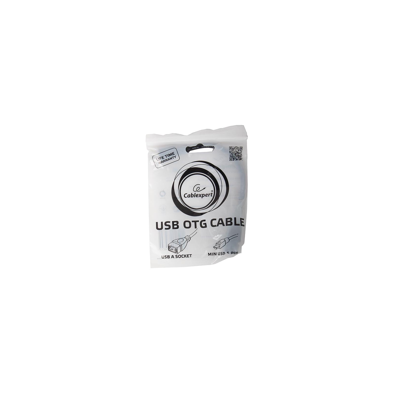 Дата кабель MAXXTRO OTG USB2.0, AF-MiniUSB 5P (U-AF5P-OTG) изображение 4