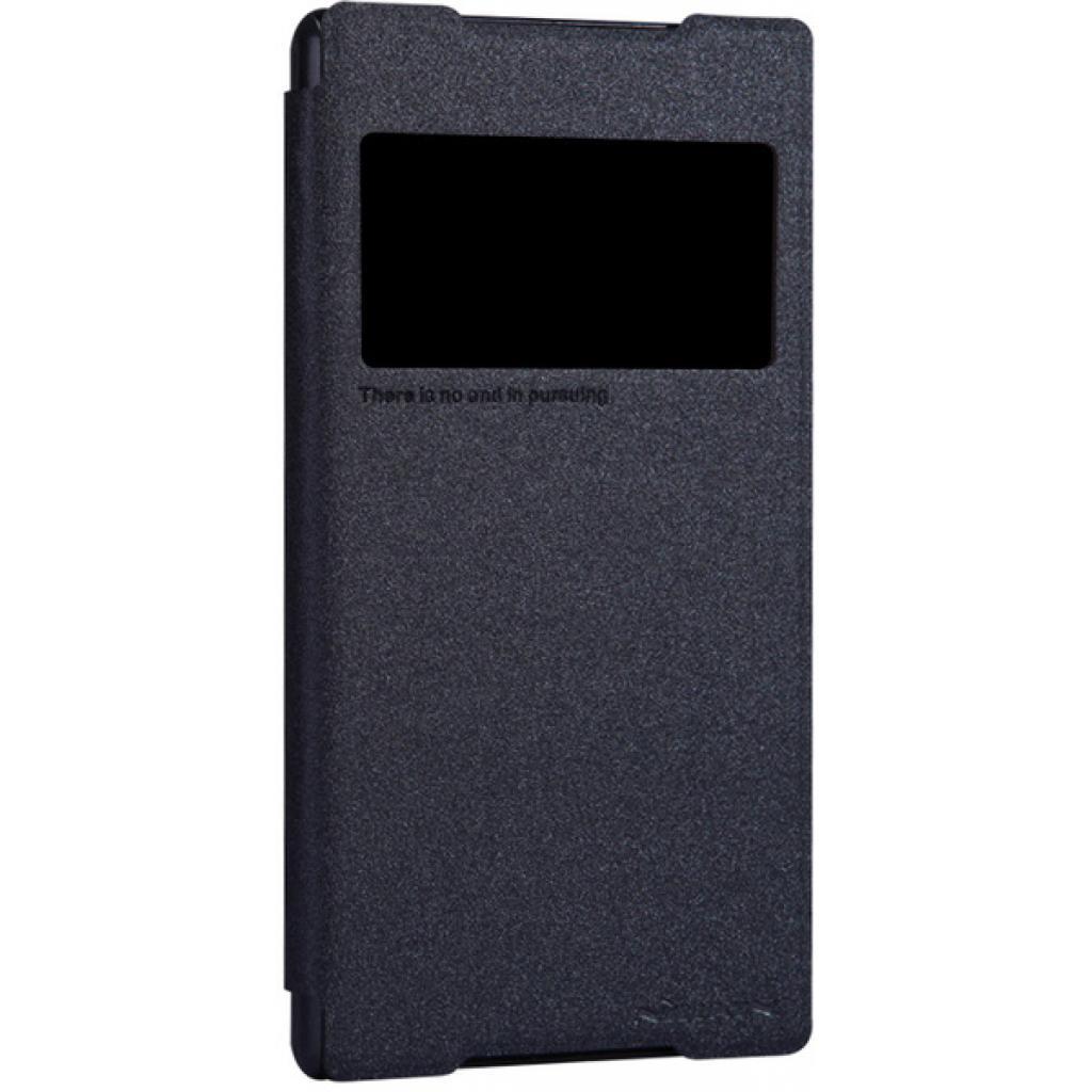 Чехол для моб. телефона NILLKIN для Sony Xperia Z2 /Spark/ Leather/Black (6147181) изображение 2