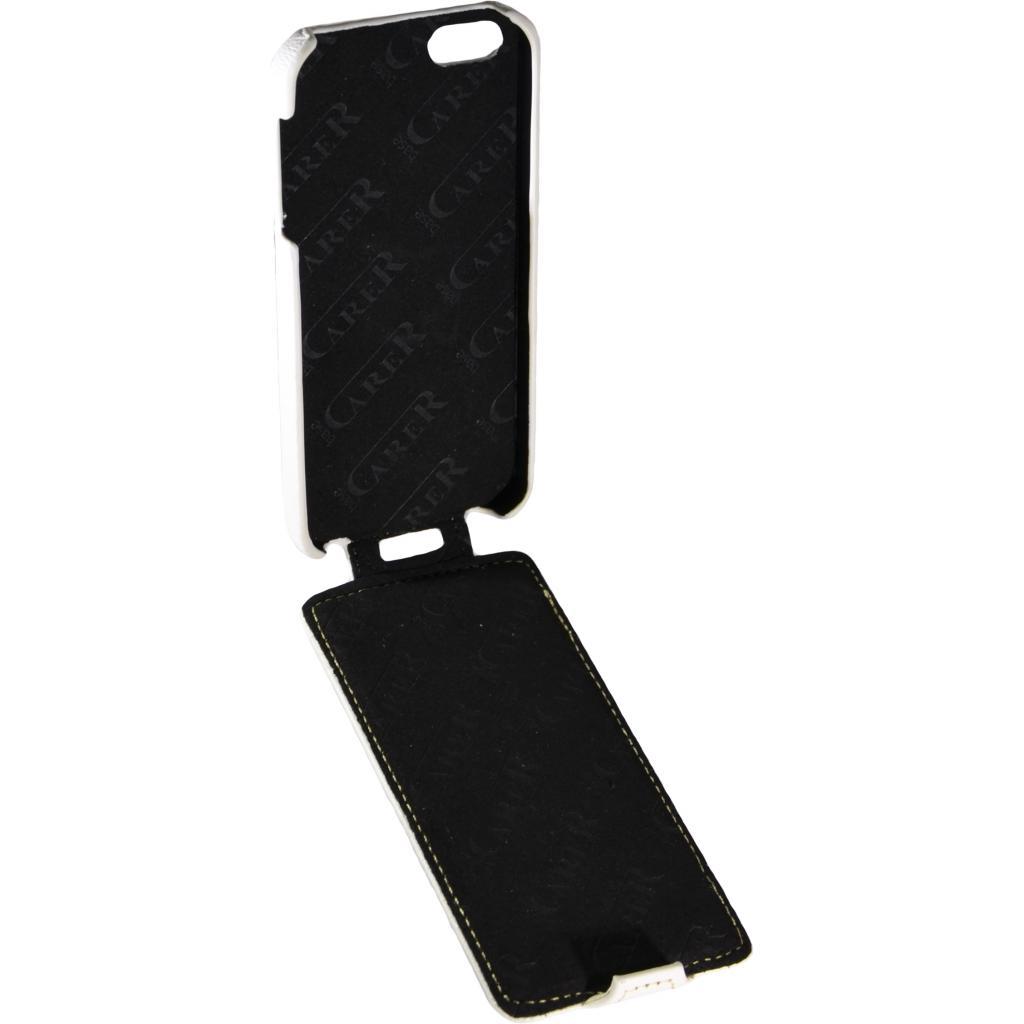 Чехол для моб. телефона Carer Base для iPhone 5/5S white grid (i-Carer iPhone 5/5S gr wh) изображение 3