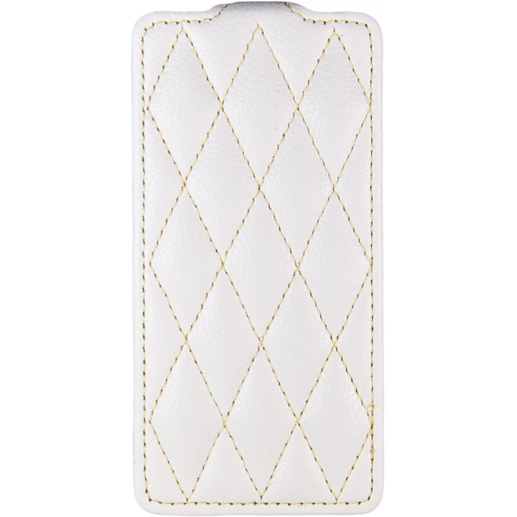 Чехол для моб. телефона Carer Base для iPhone 5/5S white grid (i-Carer iPhone 5/5S gr wh)