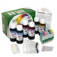 Комплект перезаправляемых картриджей ColorWay Epson P50/PX50/650/700(6x50мл) (P50RC-6.5)