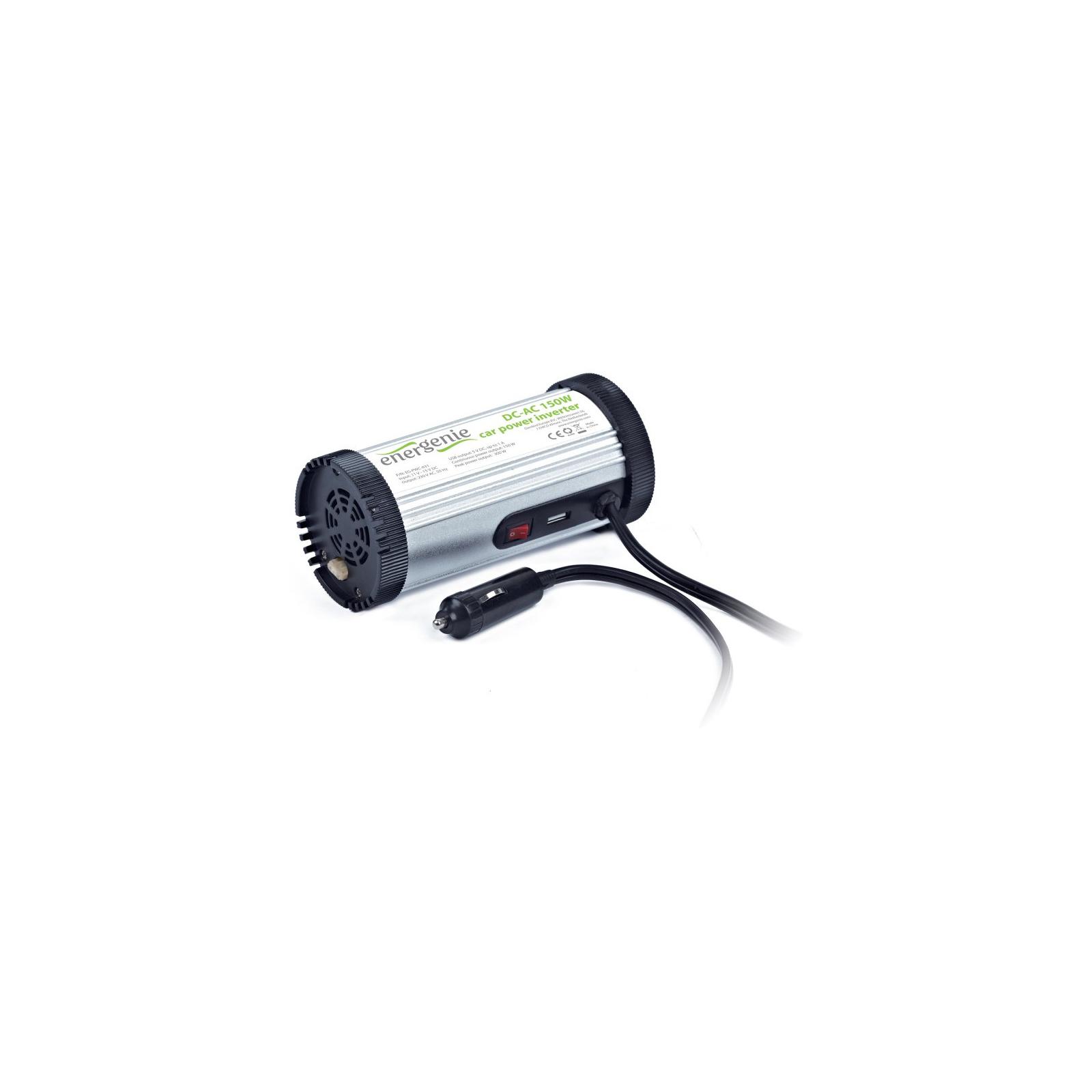 Автомобильный инвертор 12V/220V 150 Вт EnerGenie (EG-PWC-031) изображение 2