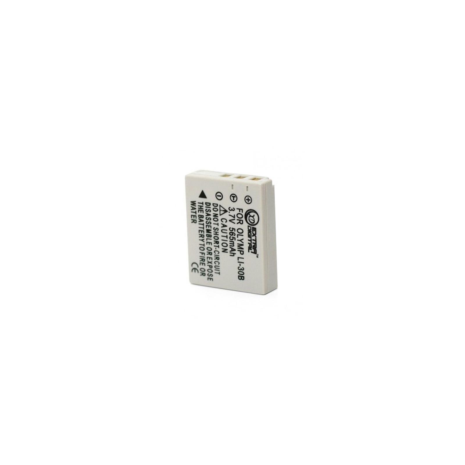 Аккумулятор к фото/видео EXTRADIGITAL Olympus Li-30B (DV00DV1058) изображение 2