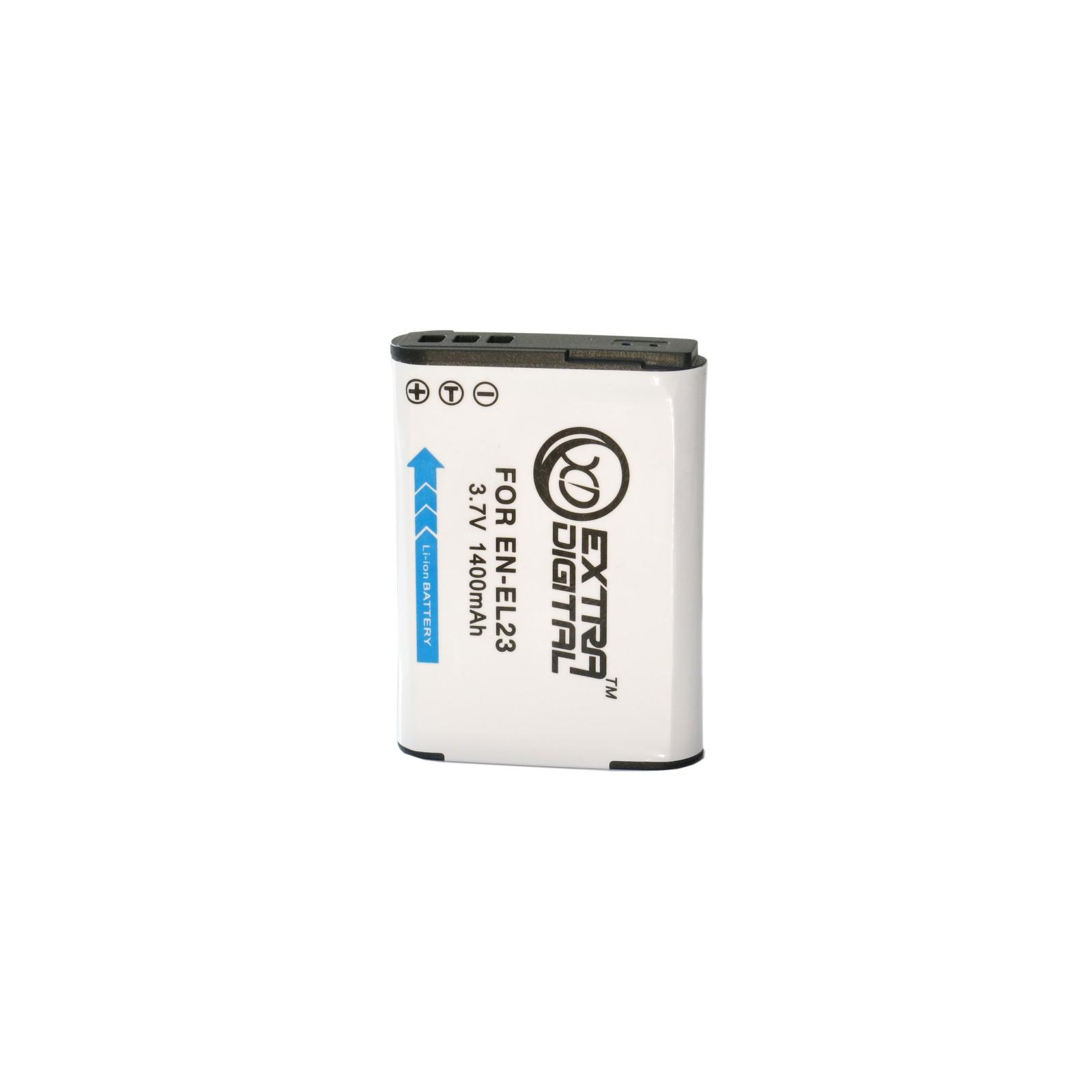 Аккумулятор к фото/видео EXTRADIGITAL Nikon EN-EL23 (BDN2529) изображение 2