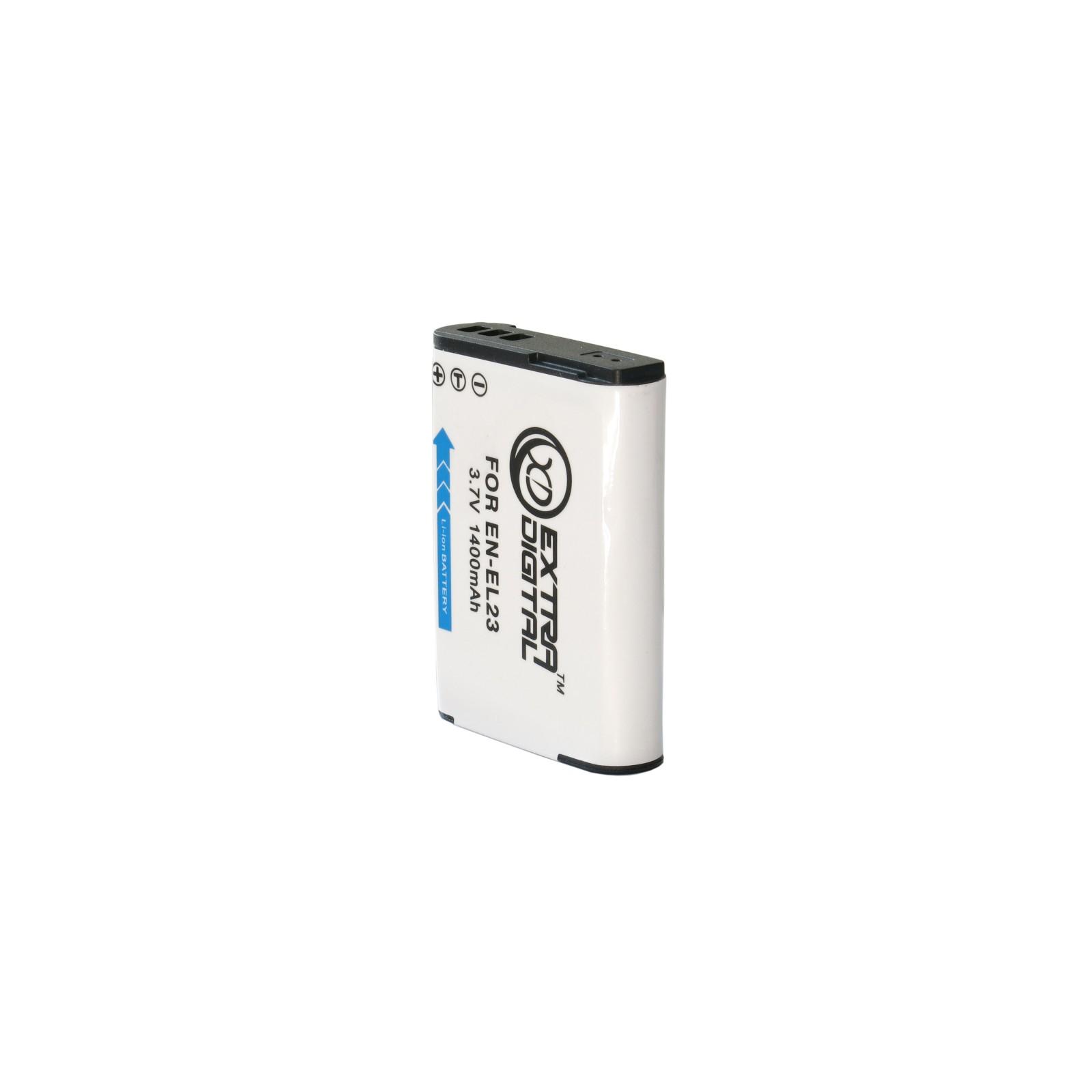 Аккумулятор к фото/видео EXTRADIGITAL Nikon EN-EL23 (BDN2529) изображение 3