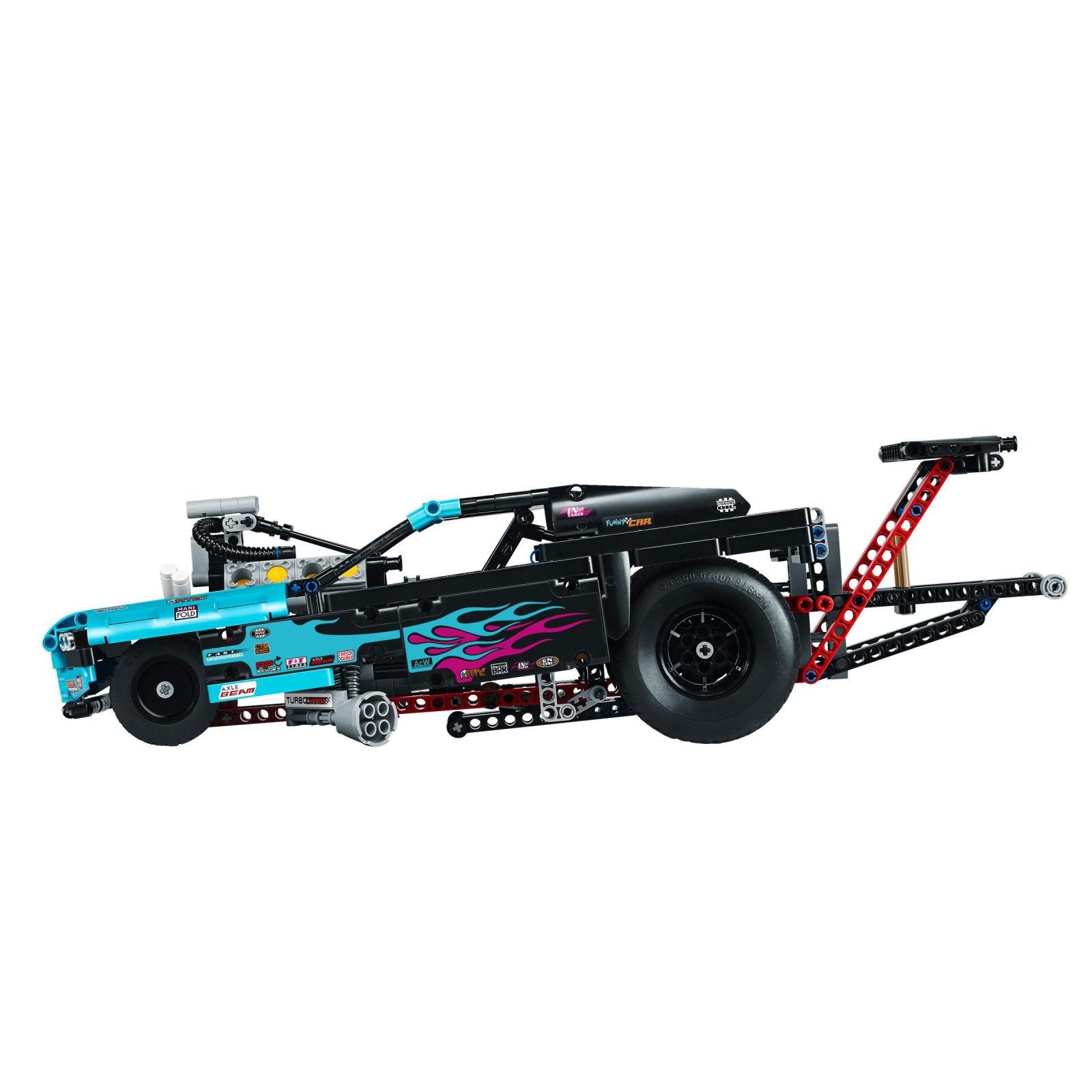 Конструктор LEGO Technic Драгстер (42050) изображение 3