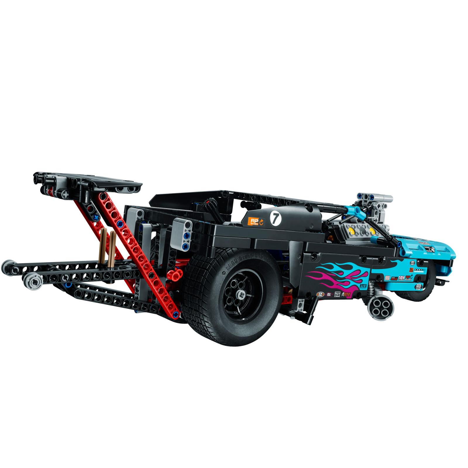 Конструктор LEGO Technic Драгстер (42050) изображение 4