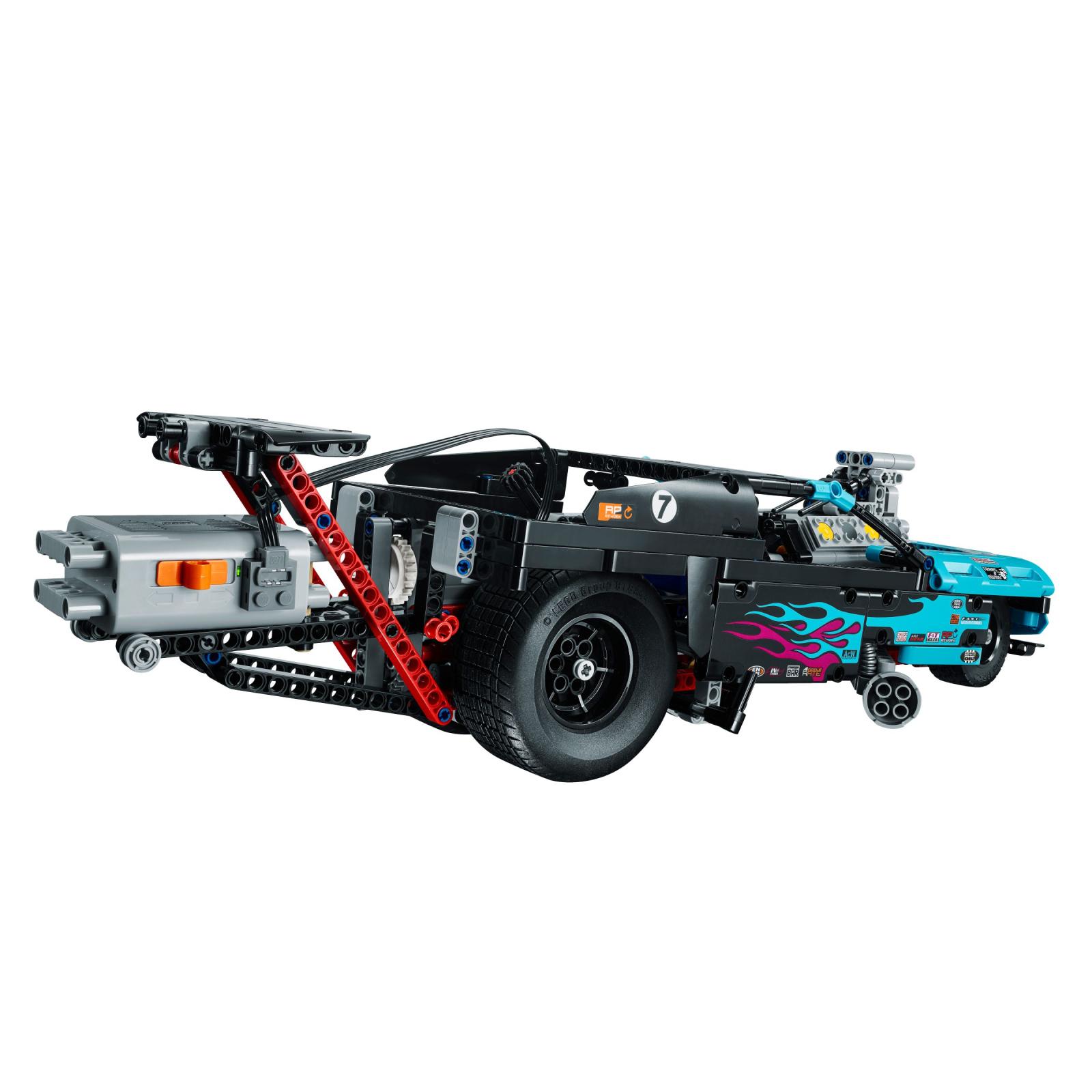 Конструктор LEGO Technic Драгстер (42050) изображение 5