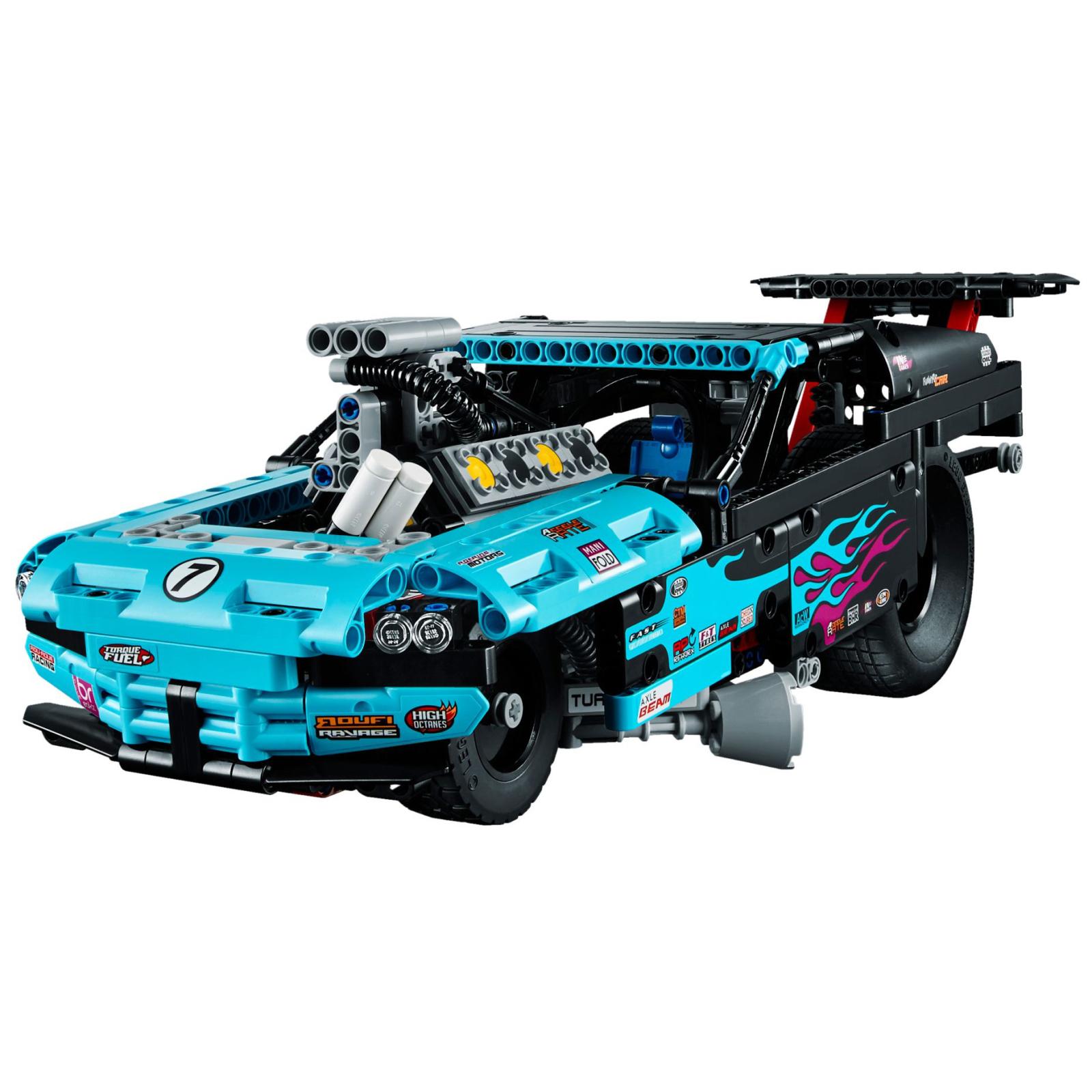 Конструктор LEGO Technic Драгстер (42050) изображение 6