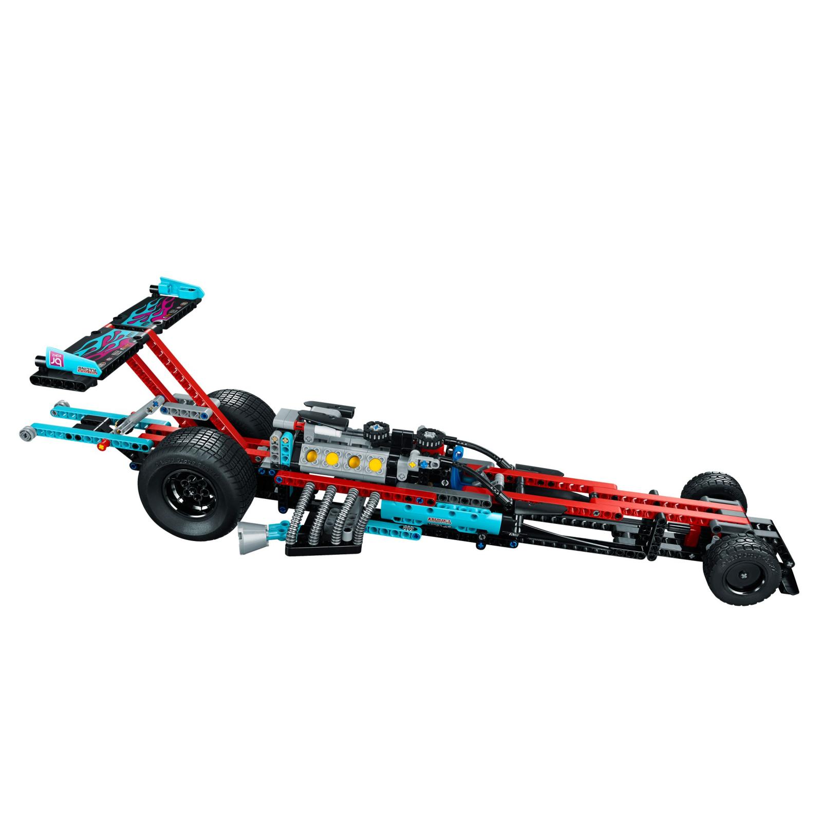 Конструктор LEGO Technic Драгстер (42050) изображение 7