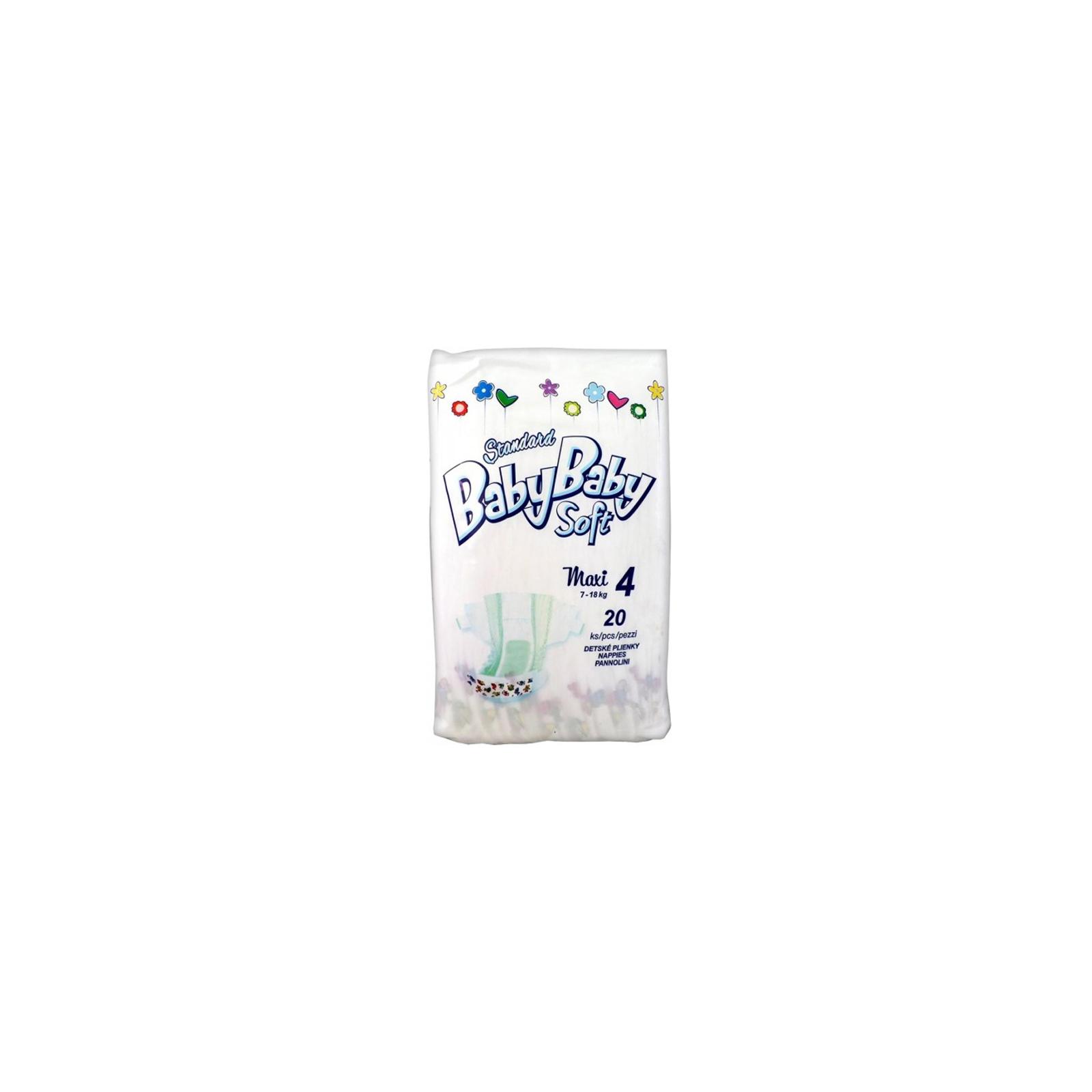 Подгузник BabyBaby Soft Standard Maxi 4 (7-18 кг) 20 шт (8588004865600)
