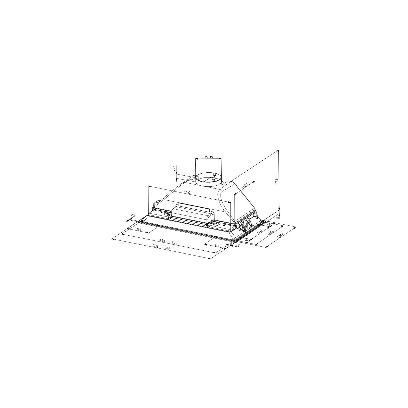 Вытяжка кухонная Faber INCA SMART HC X A 70 изображение 2