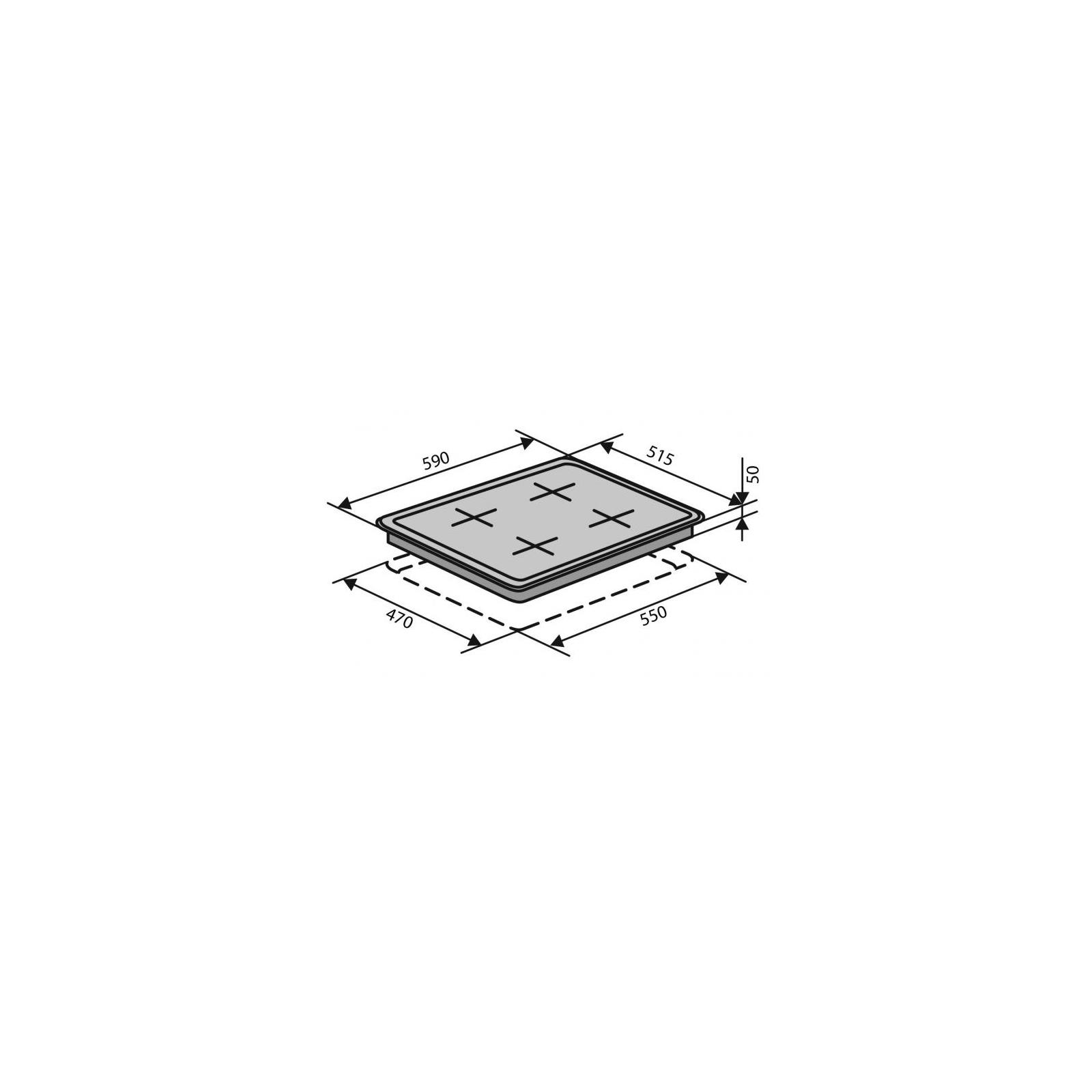 Варочная поверхность Ventolux HSF640-D3 CEST (IVORY) изображение 2