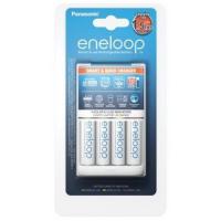 Зарядное устройство для аккумуляторов PANASONIC Smart-Quick Charger + Eneloop AA 1900 mAh NI-MH * 4 (K-KJ55MCC40E)