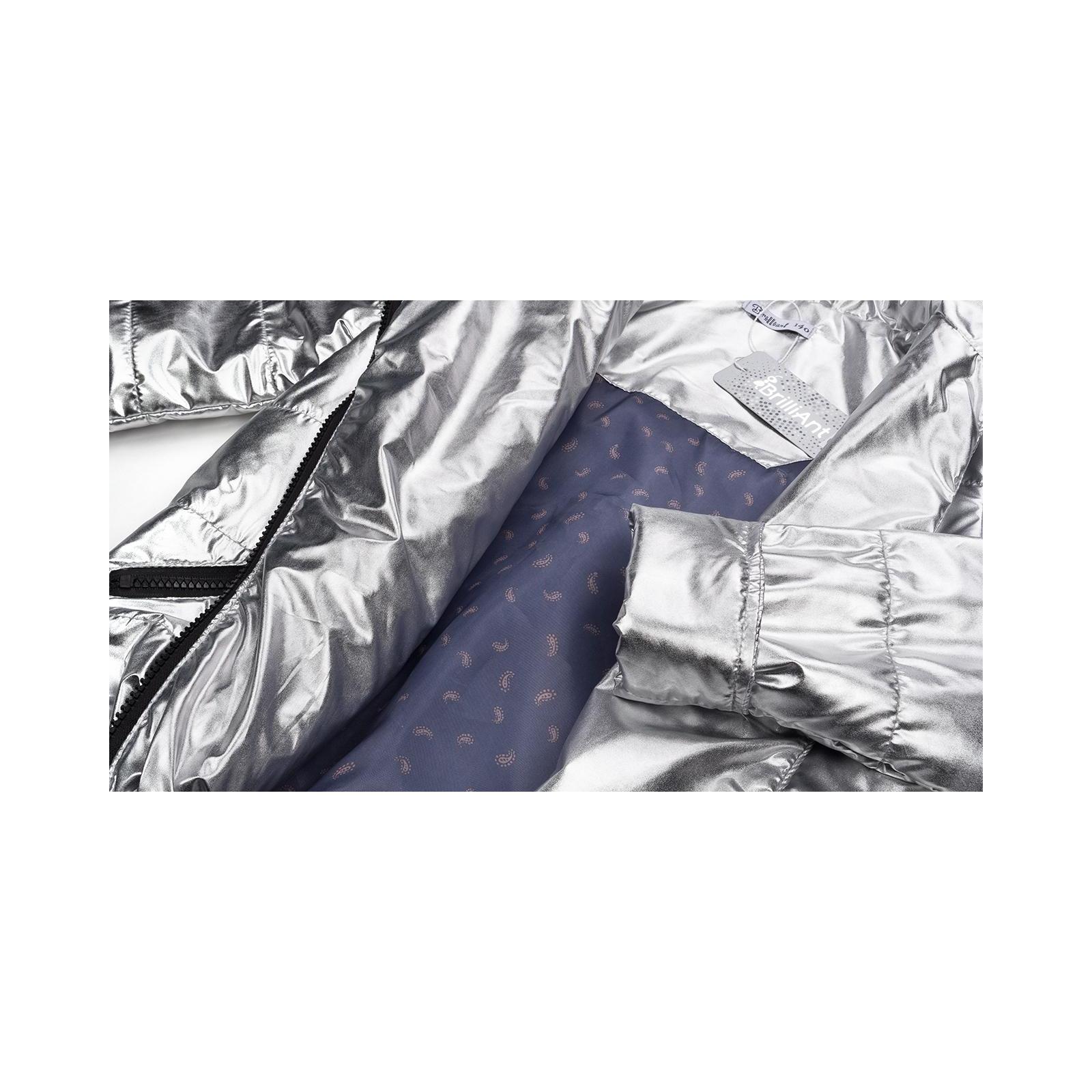 Куртка Brilliant демисезонная (1001-152G-silver) изображение 6