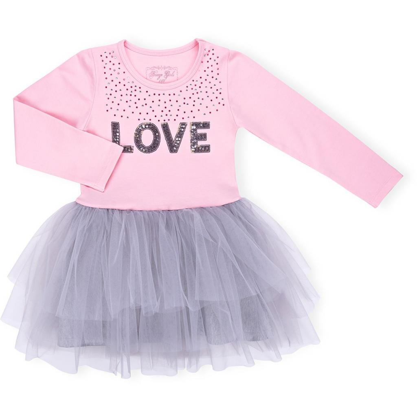 "Платье Breeze ""LOVE"" (10630-116G-pink)"