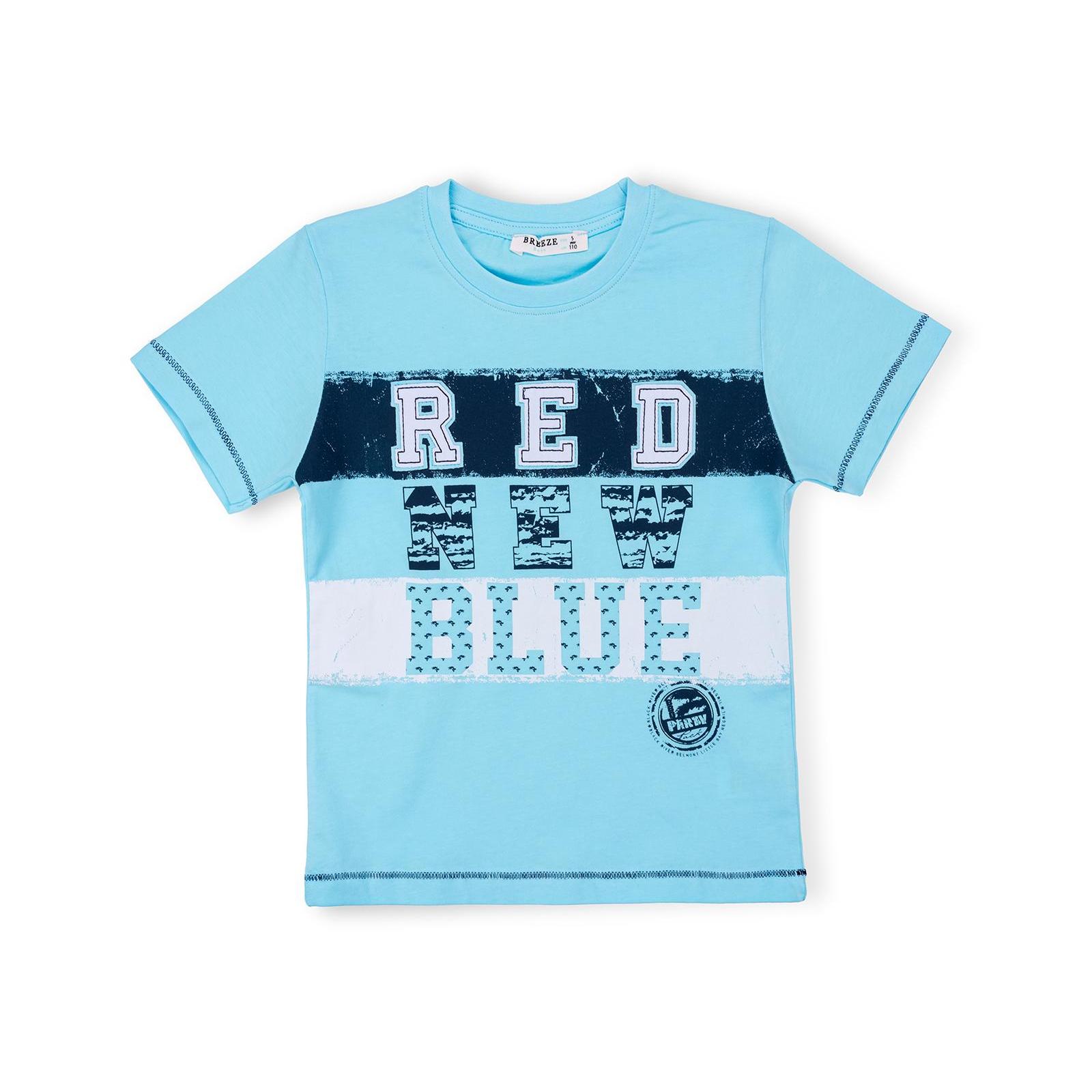 """Набор детской одежды Breeze """"RED NEW BLUE"""" (10263-128B-blue) изображение 2"""