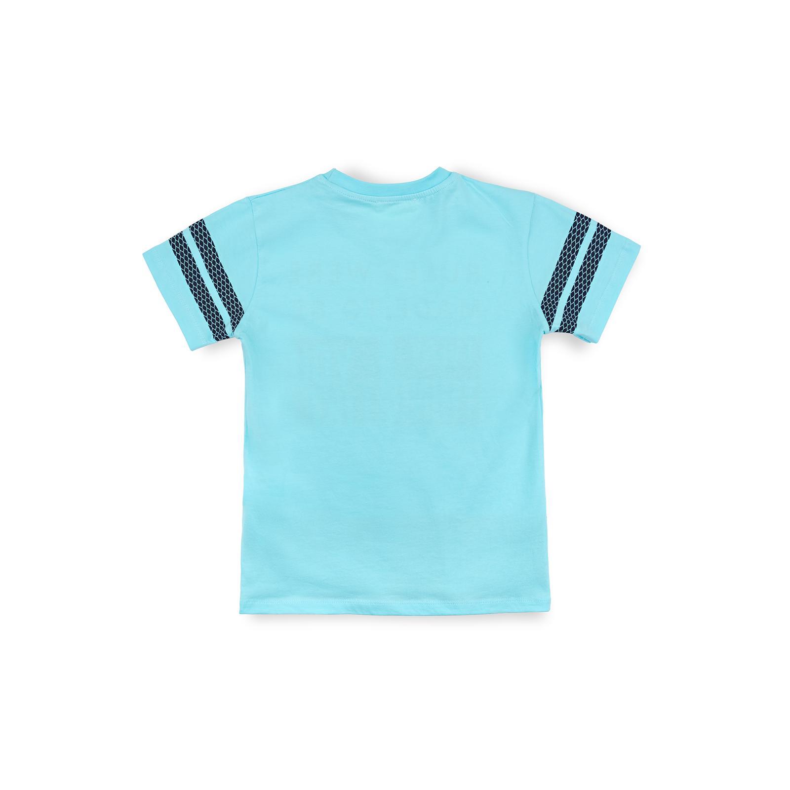 "Футболка детская Breeze ""Every thing you like"" (10980-134B-blue) изображение 2"