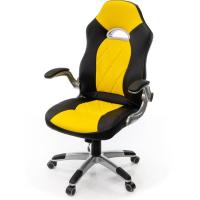 Кресло игровое АКЛАС Форсаж-8 PL TILT Желтое (10923)