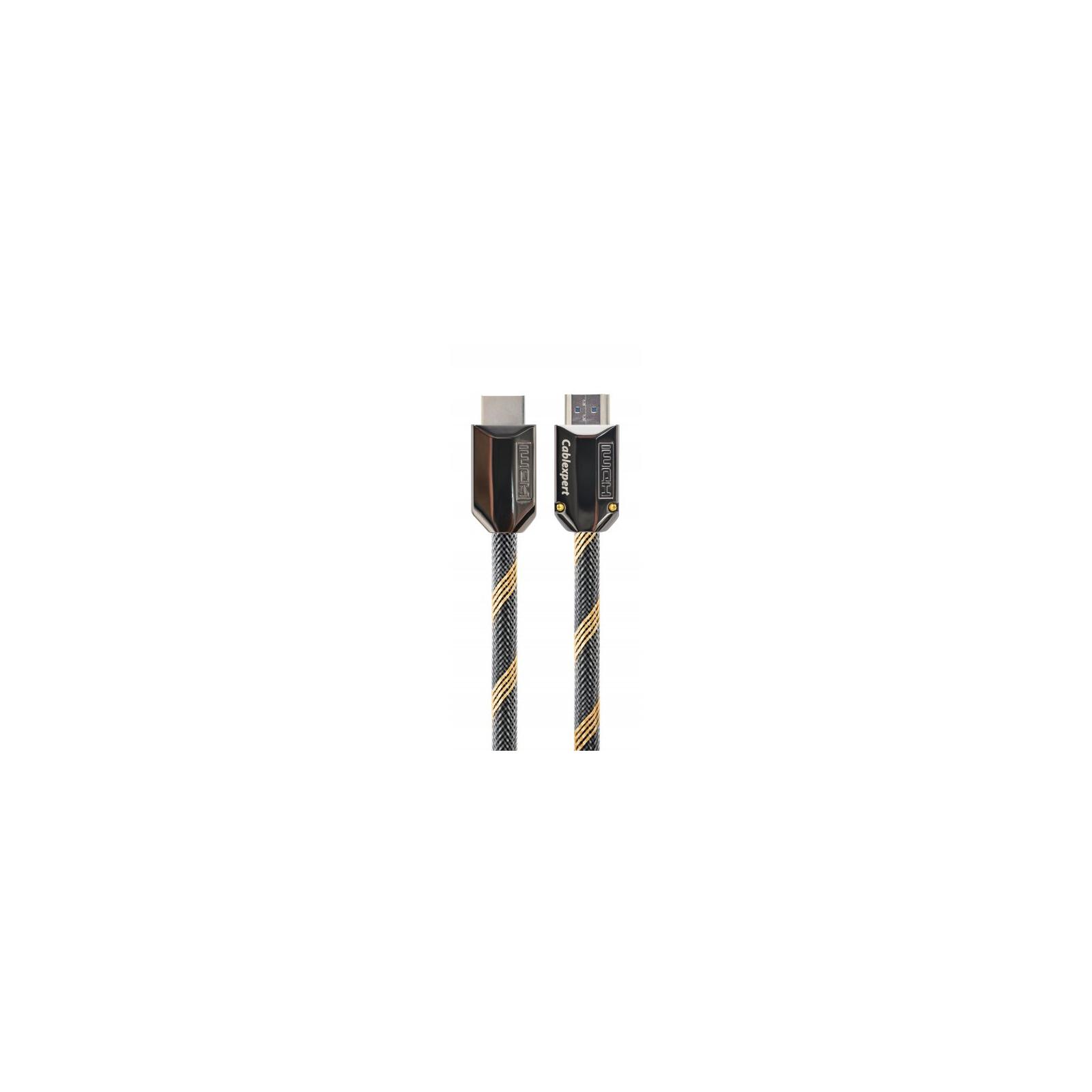 Кабель мультимедийный HDMI to HDMI 1.0m V2.0b Cablexpert (CCBP-HDMIPCC-1M)