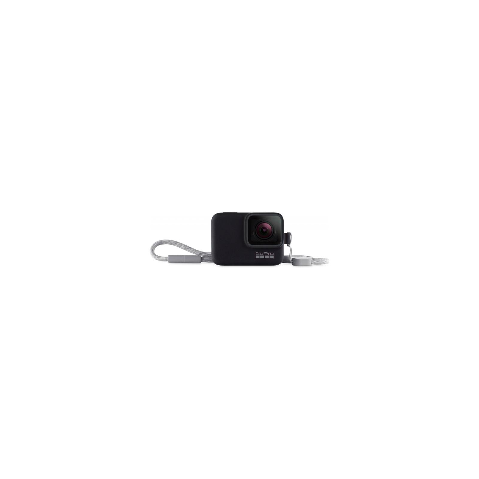 Аксессуар к экшн-камерам GoPro Sleeve & Lanyard (Black) (ACSST-001) изображение 2