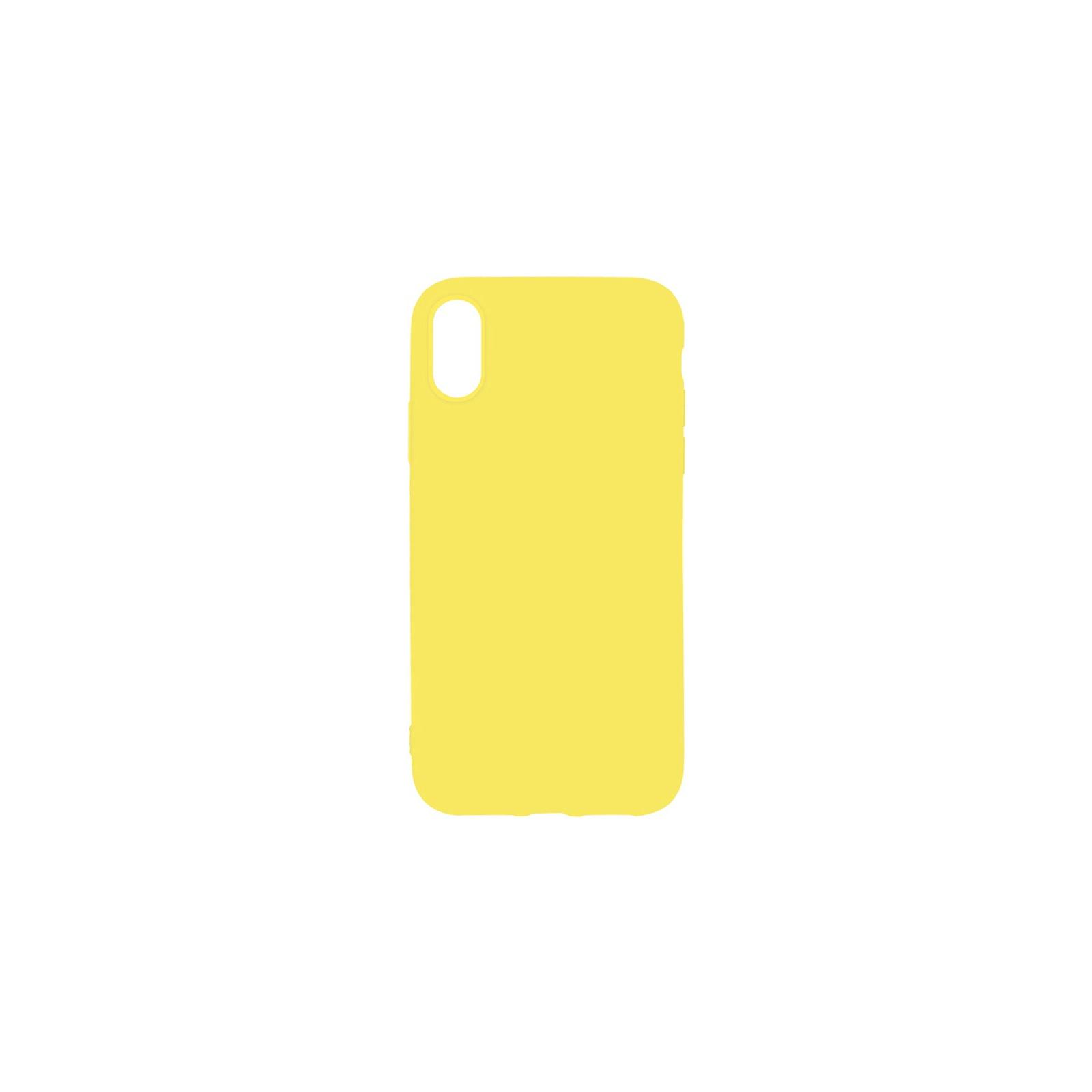 Чехол для моб. телефона Toto 1mm Matt TPU Case Apple iPhone X/XS Yellow (F_93844)