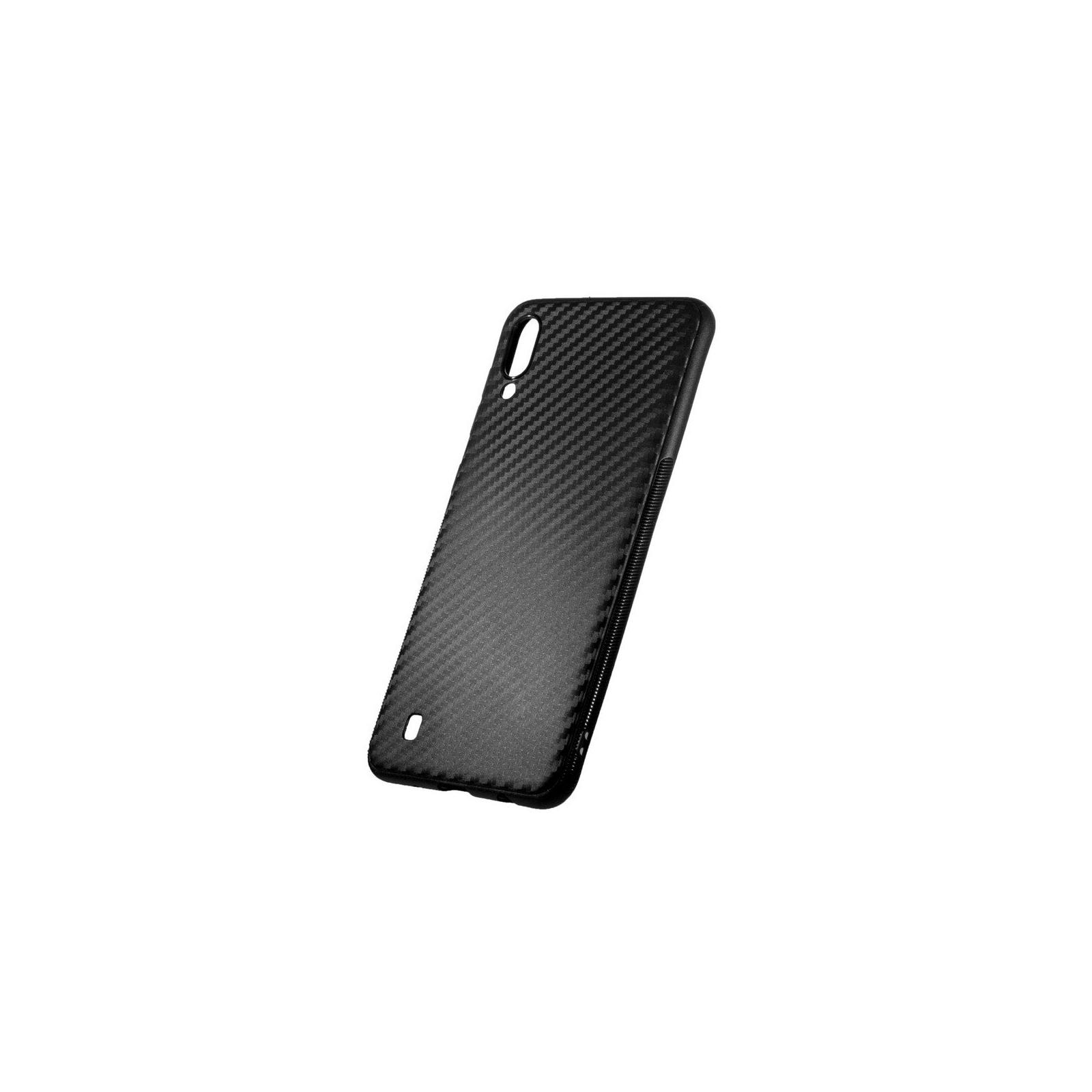 Чехол для моб. телефона ColorWay ColorWay TPU Сarbon для Samsung Galaxy M10 Black (CW-CTCBSGM105-BK) изображение 2