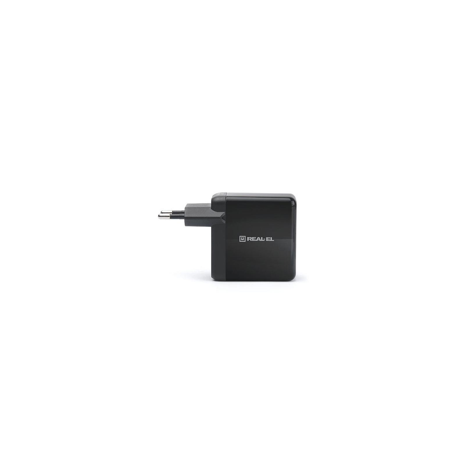 Зарядний пристрій REAL-EL CH-350 black (EL123160017) зображення 2