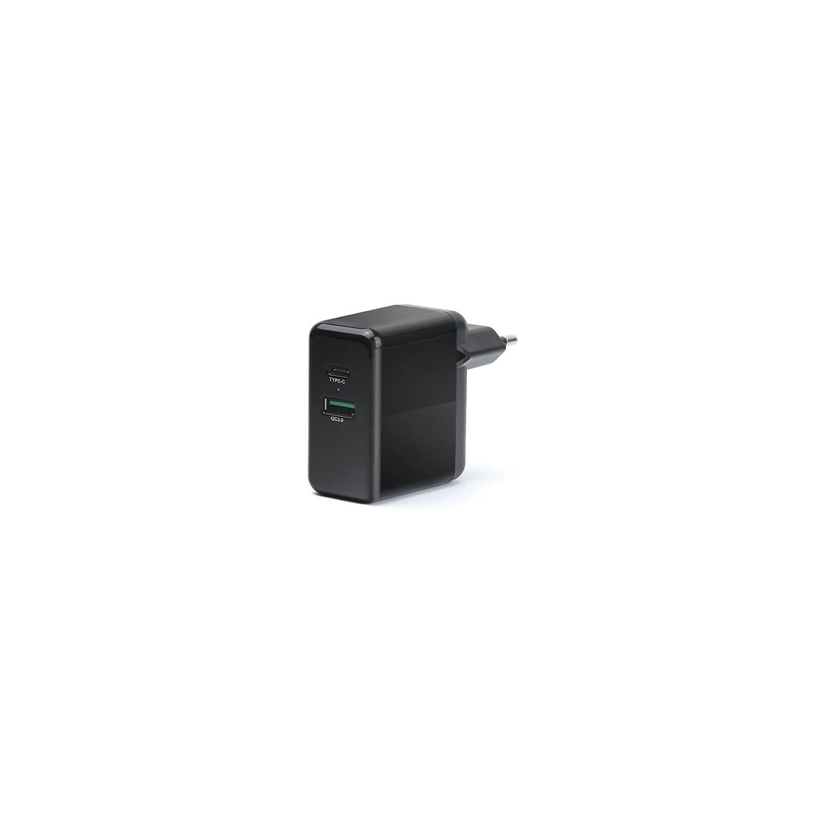 Зарядний пристрій REAL-EL CH-350 black (EL123160017)