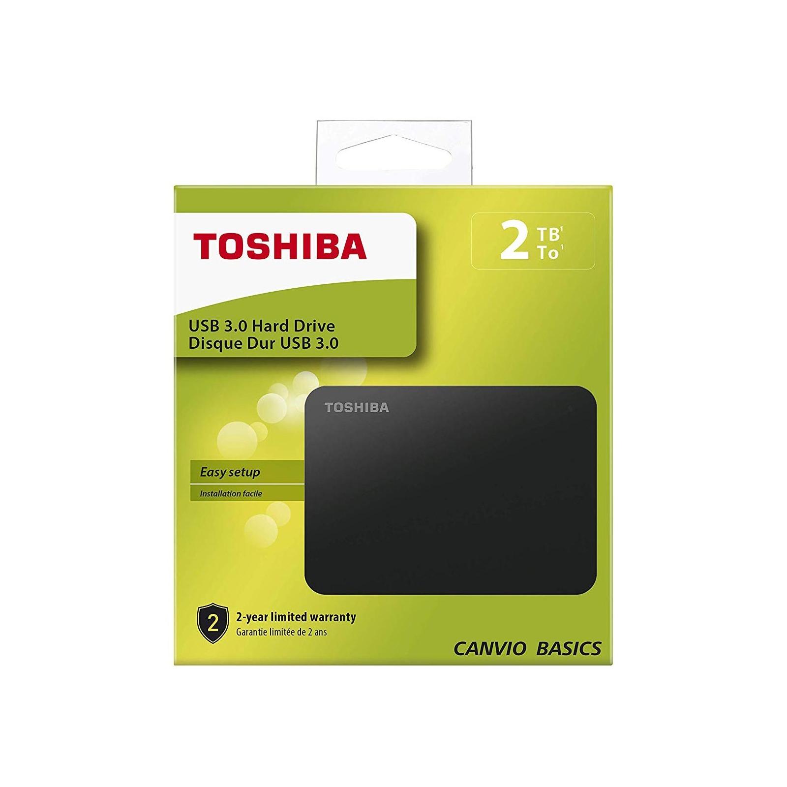 """Внешний жесткий диск 2.5"""" 3TB Toshiba (HDTB330EK3CA) изображение 8"""