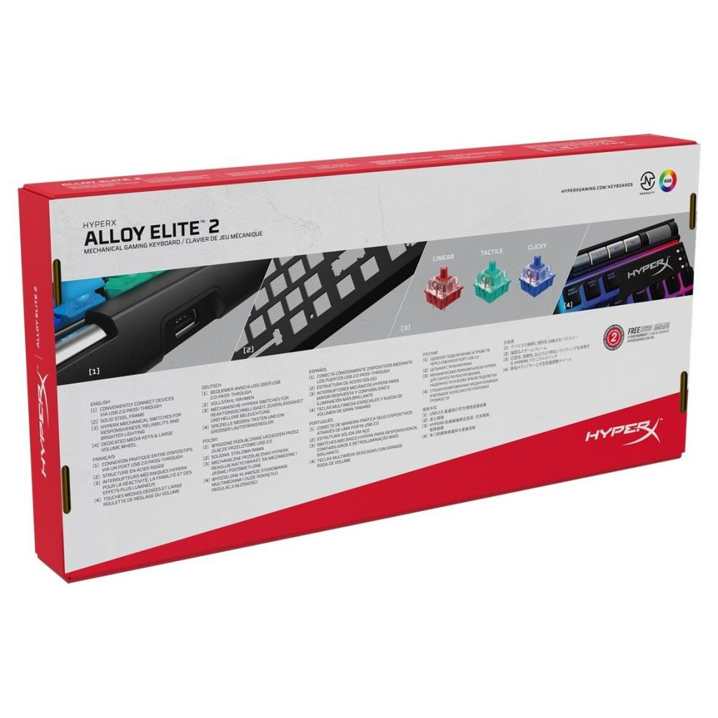 Клавіатура HyperX Alloy Elite 2 (HKBE2X-1X-RU/G) зображення 7