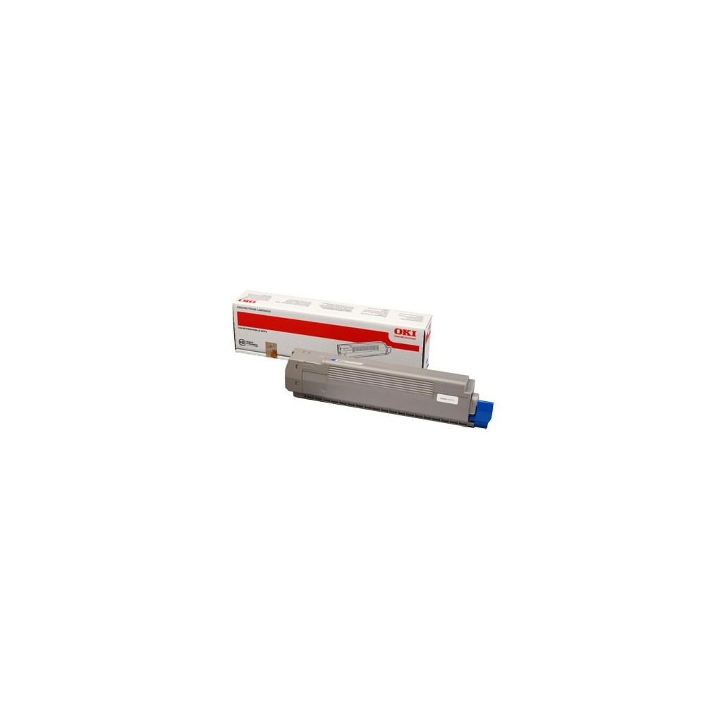 Тонер-картридж OKI C801/C821 Cyan (44643007)