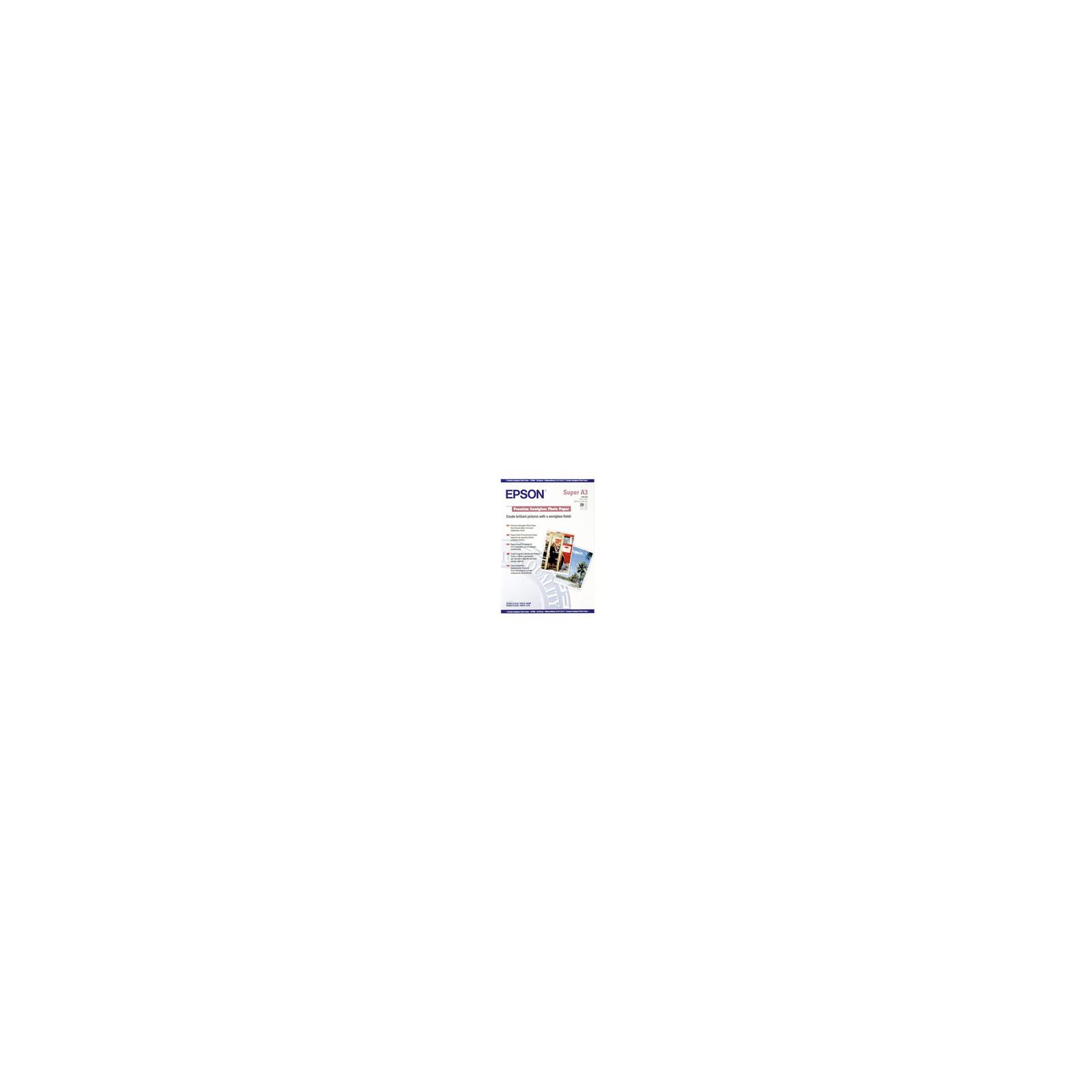 Бумага EPSON A3+ Premium Semigloss Photo Paper (C13S041328)